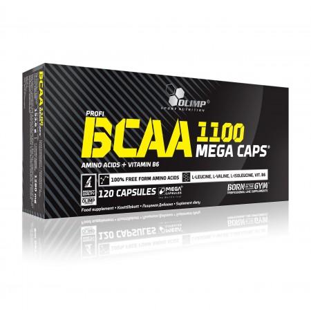 BCAA 1100 MEGA CAPS 120 kaps