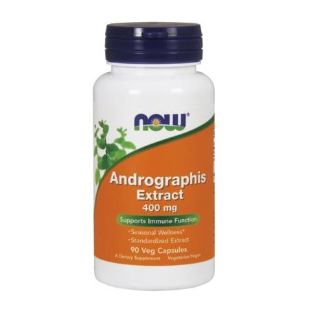NOW FOODS ANDROGRAPHIS EXTRACT 400mg 90 caps.