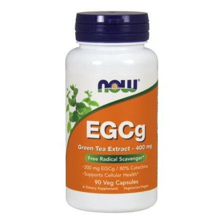 NOW FOODS EGCG 400mg 50% 90 caps.