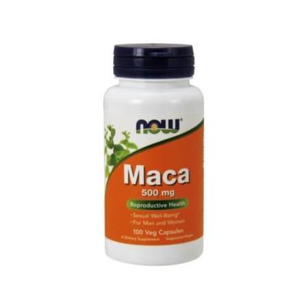 NOW FOODS MACA 500mg 100 caps.