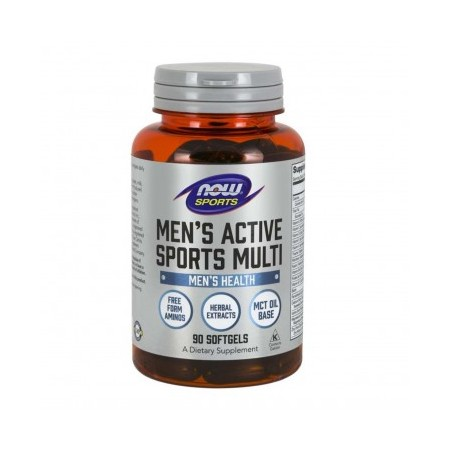 NOW FOODS MEN'S EXTREME SPORTS MULTI 90 caps.