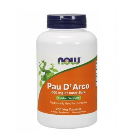 NOW FOODS PAU D' ARCO 500mg 250 caps.