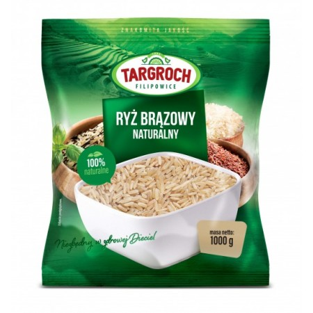 TARGROCH Ryż naturalny brązowy 1KG