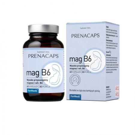 FORMEDS PRENACAPS MAG B6 60 kapsułek