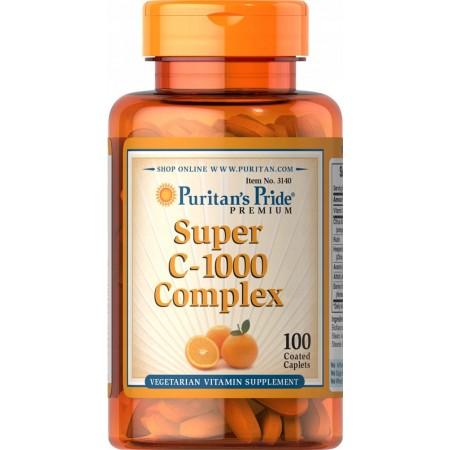 Puritan's Pride Super C-1000 Complex 100 tabletek