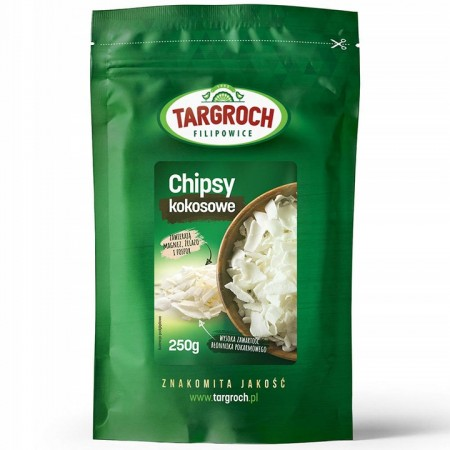 Targroch Chipsy kokosowe 250g
