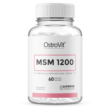 OstroVit MSM 1200 60 kapsułek