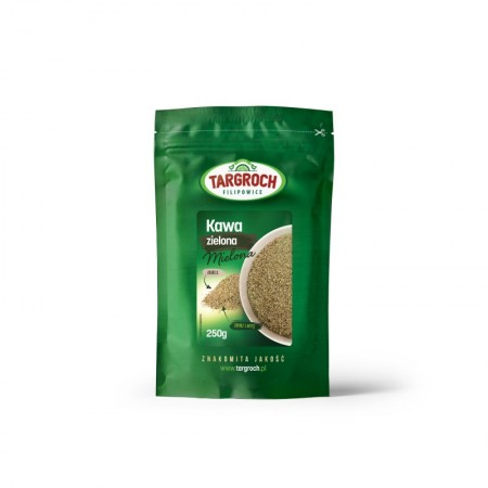 TARGROCH Kawa zielona mielona 250g