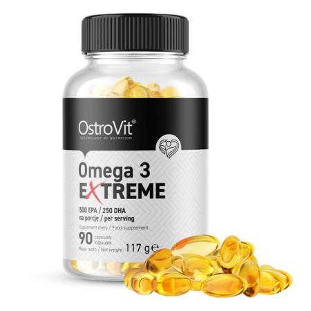 OstroVit Omega 3 Extreme 90 kapsułek