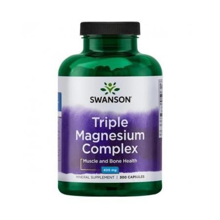 SWANSON TRIPLE MAGNESIUM COMPLEX 400MG 300CAPS