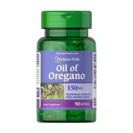 Puritan's Pride Olejek z Oregano Ekstrakt 1500 mg 90 caps.