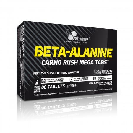 BETA-ALANINE CARNO RUSH MEGA TABS® 60 tabs.