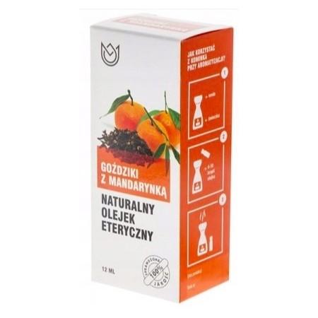Naturalny olejek eteryczny 12ml - GOŹDZIKI Z MANDARYNKĄ