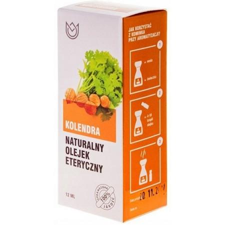 Naturalny olejek eteryczny 12ml - KOLENDRA