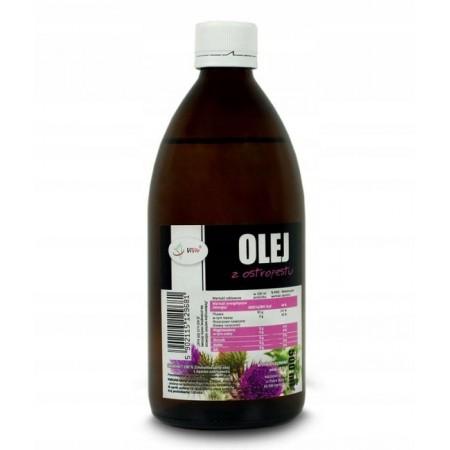 VIVIO Olej z ostropestu zimnotłoczony 500ml