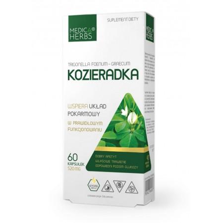 MEDICA HERBS KOZIERADKA 520mg 60 kapsułek