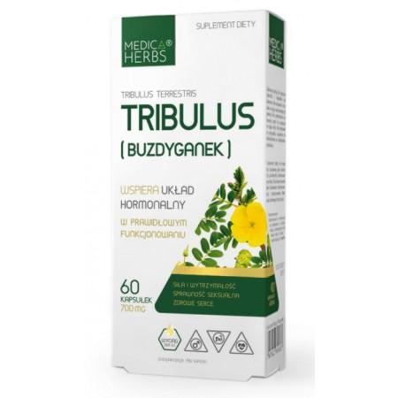 MEDICA HERBS TRIBULUS (BUZDYGANEK) 700mg 60 kapsułek