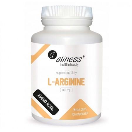 Aliness L-Arginine 800mg 100 caps.