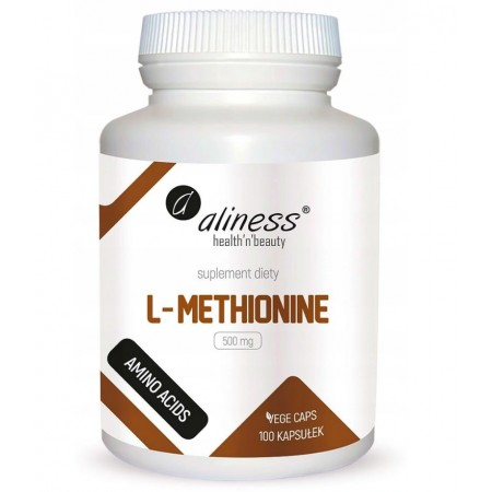 Aliness L-Methionine 500mg 100 caps.