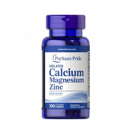 Puritan's Pride Calcium Magnesium Zinc 100 tabs.
