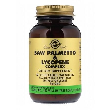 SOLGAR SAW PALMETTO & LYCOPENE COMPLEX 50 caps.