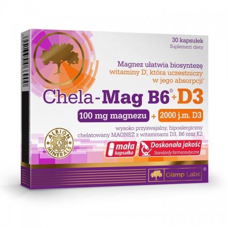 OLIMP CHELA-MAG B6 + D3 30 caps.