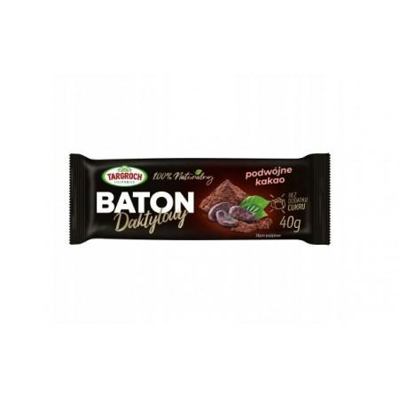 TARGROCH Baton daktylowy podwójne kakao 40g