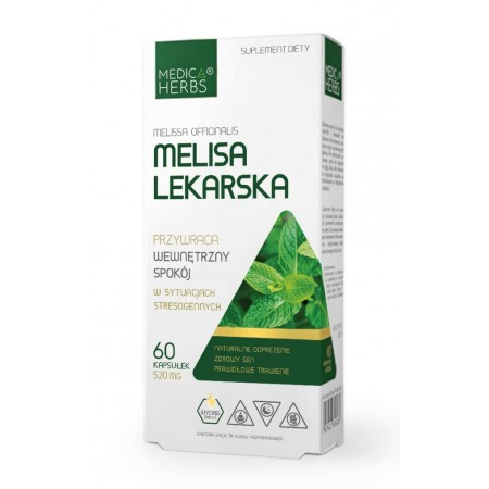 MEDICA HERBS MELISA LEKARSKA 520mg 60 caps.