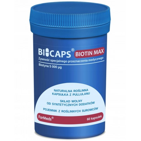 ForMeds BICAPS BIOTIN MAX 60 caps.
