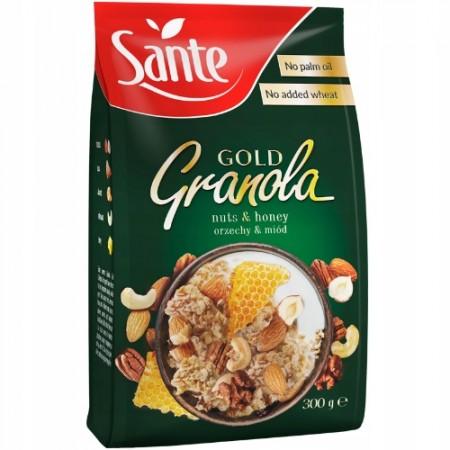 SANTE GRANOLA GOLD ORZECHOWA 300g