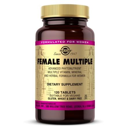 SOLGAR FEMALE MULTIPLE 120 tabletek