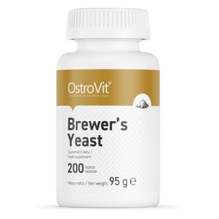 OstroVit Brewer's Yeast 200 tabletek