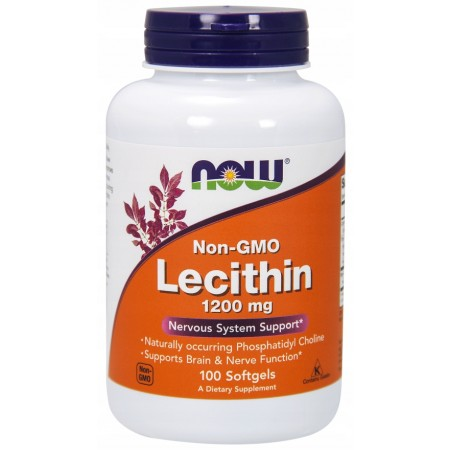 NOW FOODS LECITHIN 1200mg 100 caps.