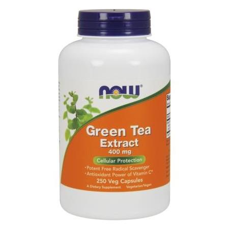 NOW FOODS GREEN TEA EXTRACT 400mg 250 caps.
