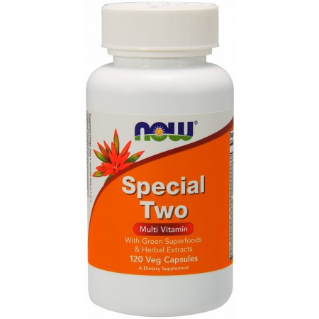 NOW FOODS SPECIAL TWO MULTI 120 caps.