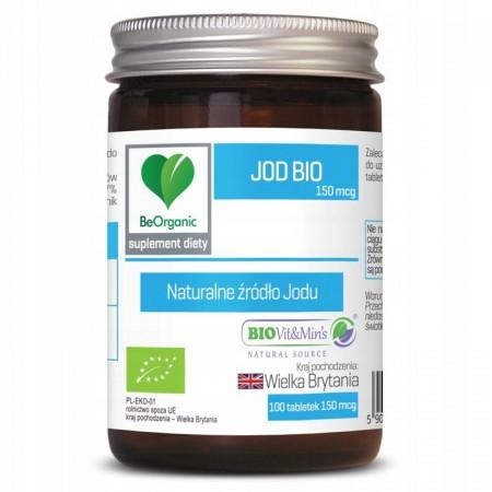 BeOrganic Jod BIO 230mg 100 tabl.