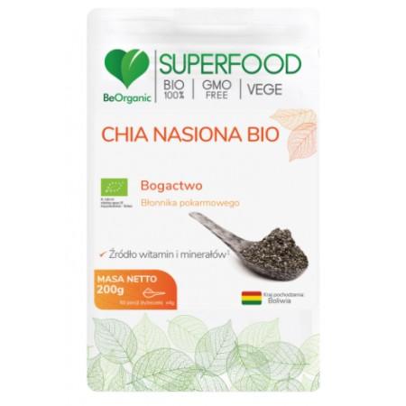 BeOrganic Nasiocha Chia BIO 200g