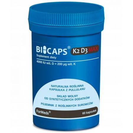 ForMeds BICAPS WITAMINA K2 D3 MAX 60 caps.