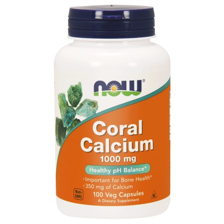 NOW FOODS CORAL CALCIUM 1000mg 100 kaps