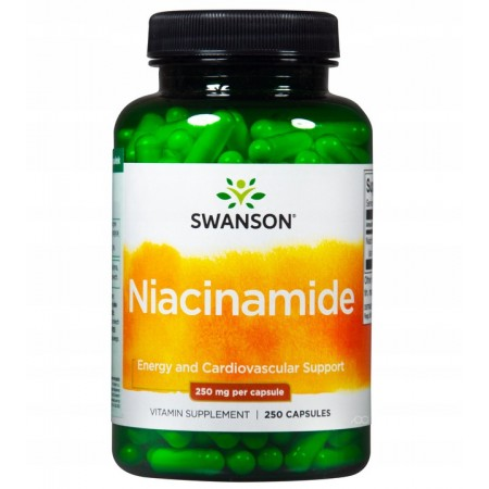 SWANSON NIACINAMIDE 250mg 250 caps.