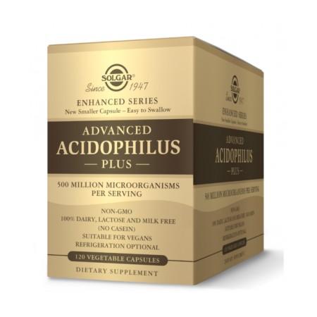 Solgar Advanced Acidophilus Plus 120 vcaps