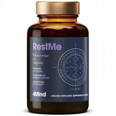 HealthLabs 4Mind RestMe 60 kapsułek