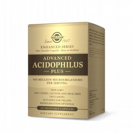 SOLGAR ADVANCED ACIDOPHILUS PLUS 60 caps.