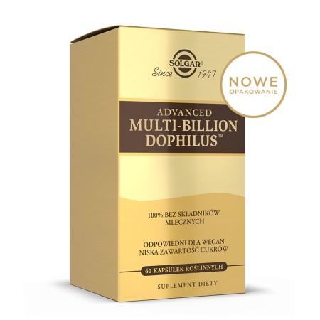 SOLGAR ADVANCED MULTI BILLION DOPHILUS 60 caps.