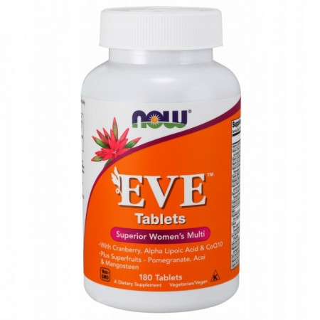 NOW FOODS EVE WOMAN'S MULTI 180 tabs.