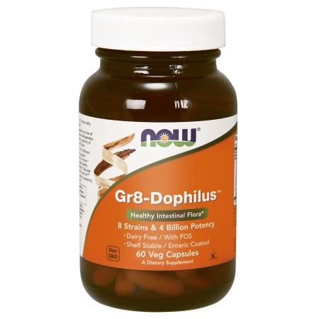 NOW FOODS Gr8-DOPHILUS 60 caps.
