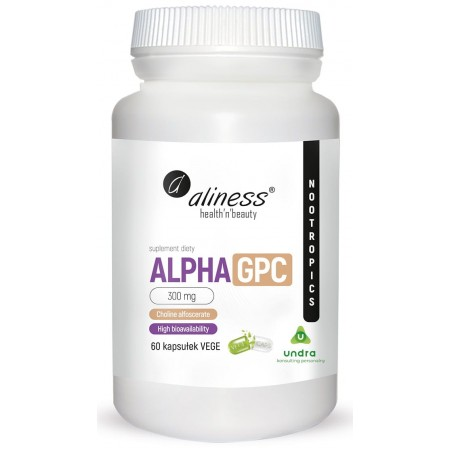 Aliness Alpha GPC 300mg 60 caps.