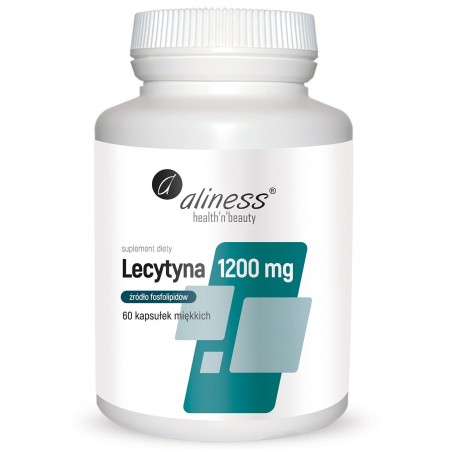 Aliness Lecytyna 1200mg 60 caps.