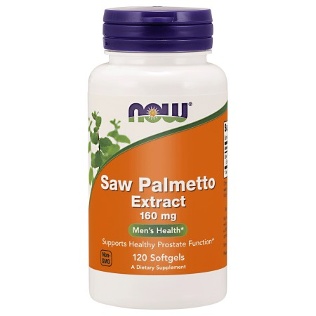 NOW FOODS SAW PALMETTO EXTRACT 160mg 120 caps.