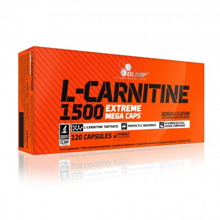 OLIMP L-CARNITINE 1500 EXTREME MEGA CAPS® 120caps.